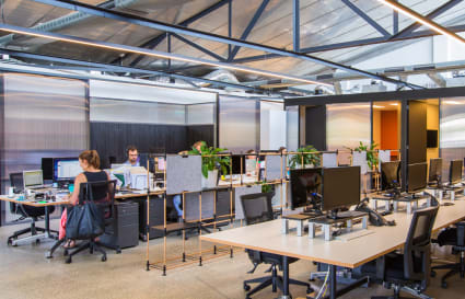 Coworking space in renovated warehouse, Prahran (up to 8 pax)