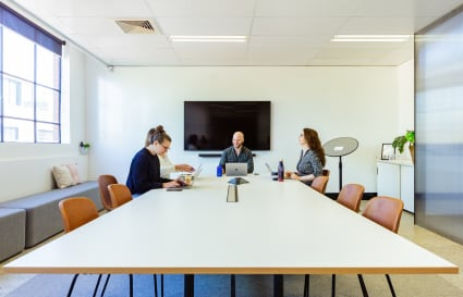 Boardroom in renovated warehouse, Prahran (up to 12 pax)