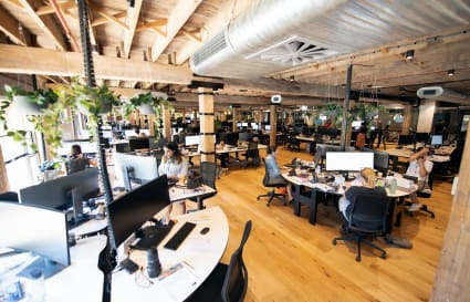 Up to 40 Desks in Converted Warehouse