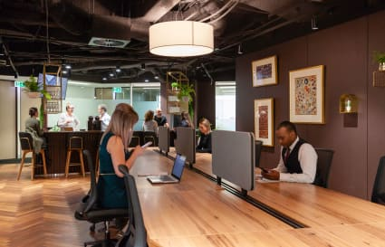 Coworking Dedicated Desk in SA's highest building