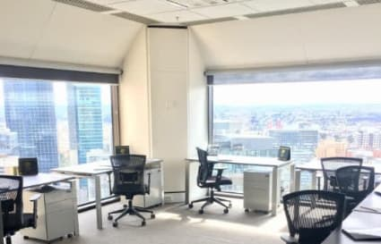 8 Person external office suite on Collins St
