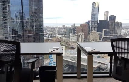 6 Person external office suite on Collins St