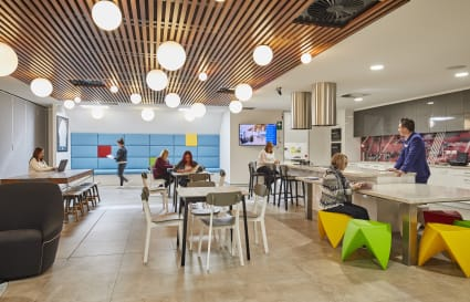 1-5 Permanent desks in eco-friendly building