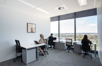 3 Person external office space