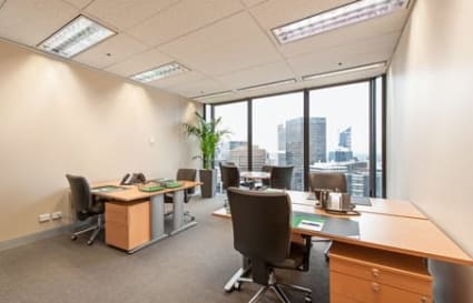 External private office space for up to 6