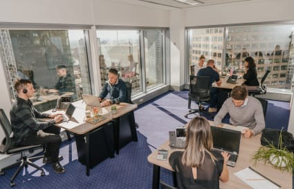 Collaborative external  workspace for 6 people in Melbourne's most prestigious building