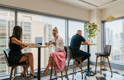 Collaborative workspace for 2 people in Melbourne's most prestigious building