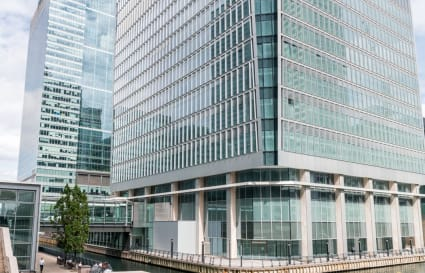 71 Person Office Space in Churchill Place
