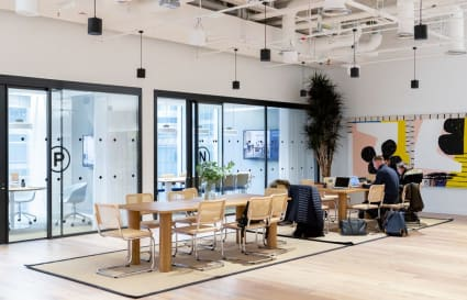 48 Person Office Space in Churchill Place