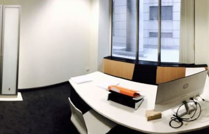 Private office on St Kilda Road