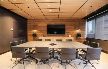 12 Person Boardroom in Melbourne CBD with Cityscape Views