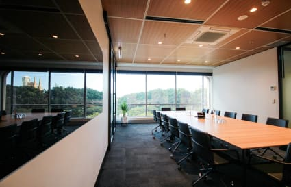 16 Person Boardroom w Natural Light & Views of Hyde Park (Lvl 6)