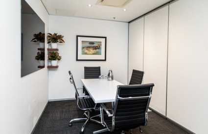 4 Person Meeting Room by Wynyard Station & Barangaroo (Lvl 8)