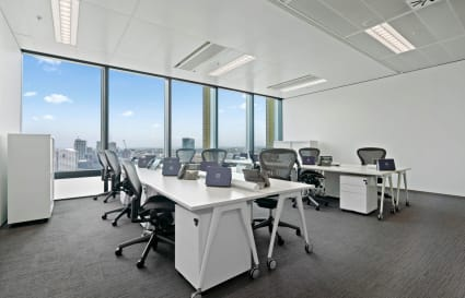8-Desk Private Office with City Views