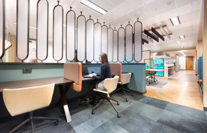 4 Person internal private office in Cannon Place