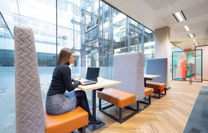 3 Person internal private office in Cannon Place