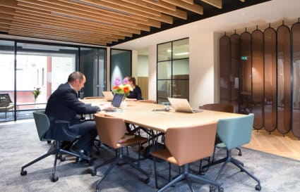 7 Person internal private office in Chancery Lane