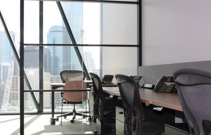 3 Person external private office with City views | Collins Square Tower 5