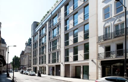 18 Person standard private office in Dover Street