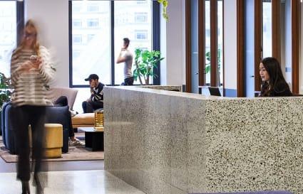 6 Person private office in One Canada Square