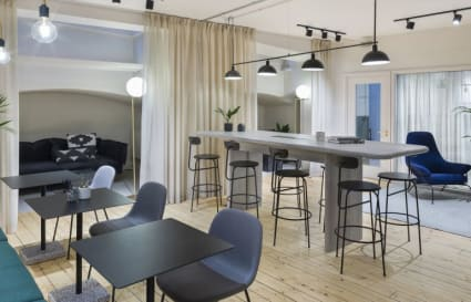 13 Person private office in Greville Street