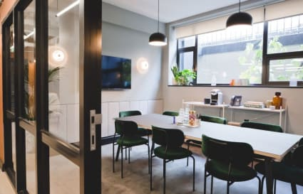 7 person private office in Kirby Street