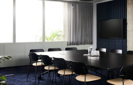 12 Person private office in One Lyric Square - Exec office and meeting room