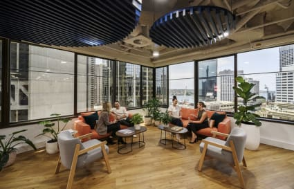 Private Office for 8 next to Wynyard Station!
