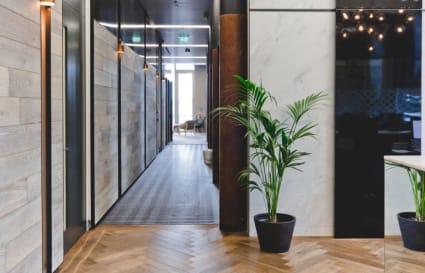 8 Person private office in Gridiron Building