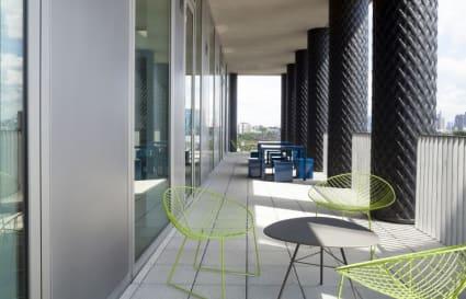 10 Person private office in Gridiron Building