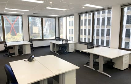 External Serviced Office for 8 persons in Sydney