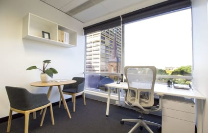 Private office with Hyde Park views