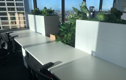 Hot Desk + Coworking Desks with River Views on Eagle Street