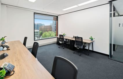 3 Person Private Window Office on Bourke Street