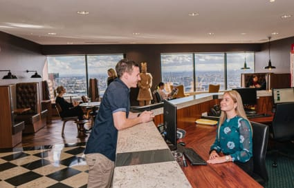 Hot Desk with Darling Harbour views | Business Hours Access