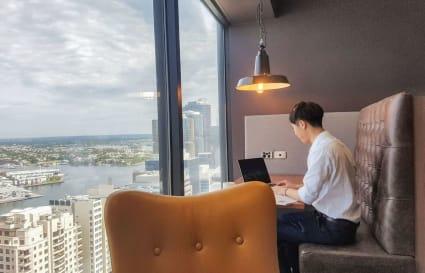 Hot Desk | Darling Harbour views
