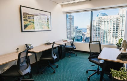 3-Person internal private office with unlimited access to coworking breakout areas