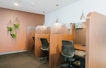 Internal private office for 4 persons with amazing views