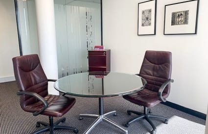 4-person private office with unlimited access to breakout areas