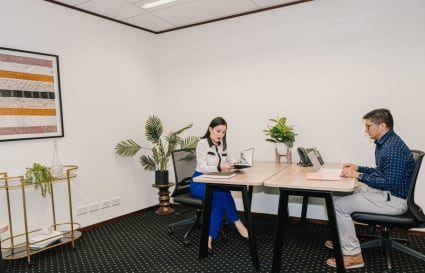 3-person private office with unlimited access to breakout areas