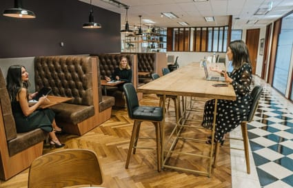 Collaborative external  workspace for 7 people in Melbourne's most prestigious building