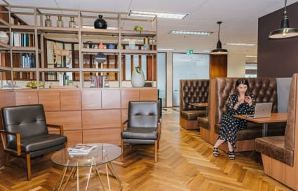 Collaborative internal  workspace for 6 people in Melbourne's most prestigious building