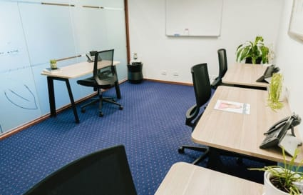 Collaborative internal  workspace for 4 people in Melbourne's most prestigious building