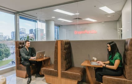 Internal 2-person workspace close to the waterfront at Riverside Quay