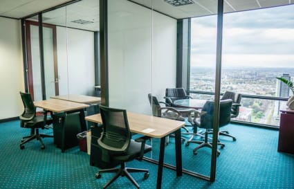 A-grade furnished external private workspace for 5 people in the centre of Melbourne's CBD