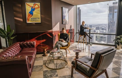 A-grade furnished external private workspace for 3 people in the centre of Melbourne's CBD