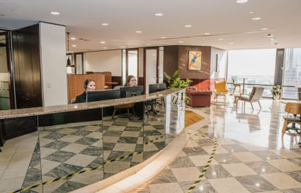 A-grade furnished external private workspace for 1 persom in the centre of Melbourne's CBD