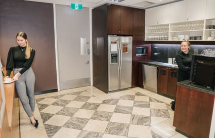 A-grade furnished external private workspace for 1 person in the centre of Melbourne's CBD