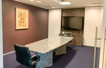 Executive fully furnished 3-Person internal office in Brisbane CBD