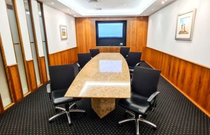 External 7 person office space with views